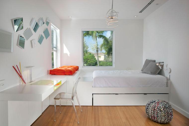 谁说青少年卧室最难设计?呶这里有14个例子_4