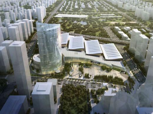 济南西部会展中心开工建设,投资59亿元!