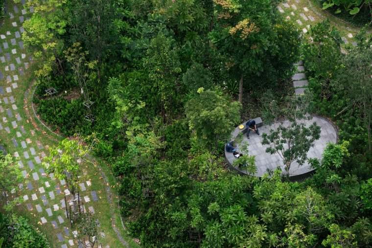 新加坡Comtech商业园区景观-12