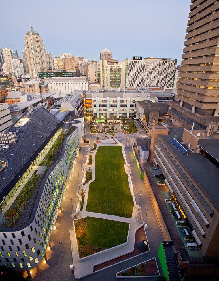 悉尼科技大学校园绿地