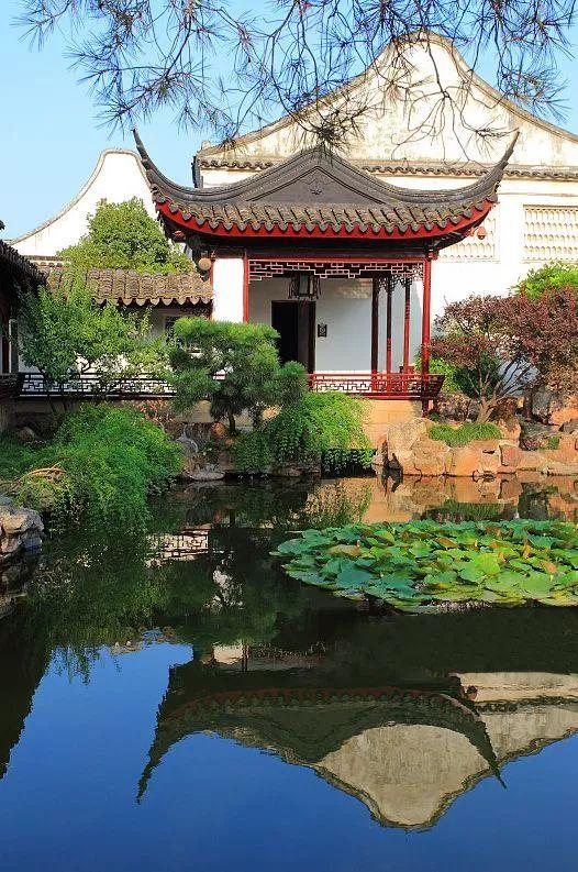 这才是中国人的院子,秋天美到骨子里_4