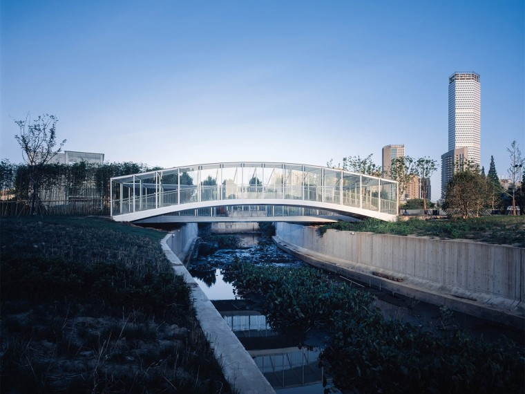 上海倪家浜桥景观