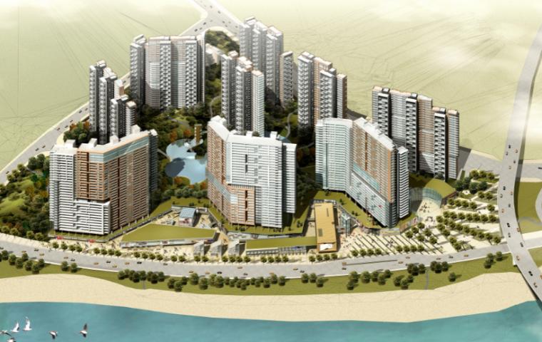[重庆]滨江花园城住宅建筑规划设计方案文本