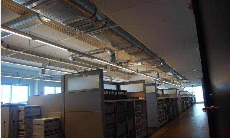 暖通空调系统中通风管道的应用
