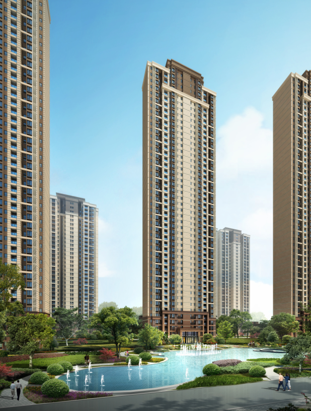 [武汉]保利高层住宅及超高层办公楼建筑方案文本(两套方案)_8