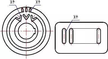 12张CAD制图简化画法,学会工作更高效了!