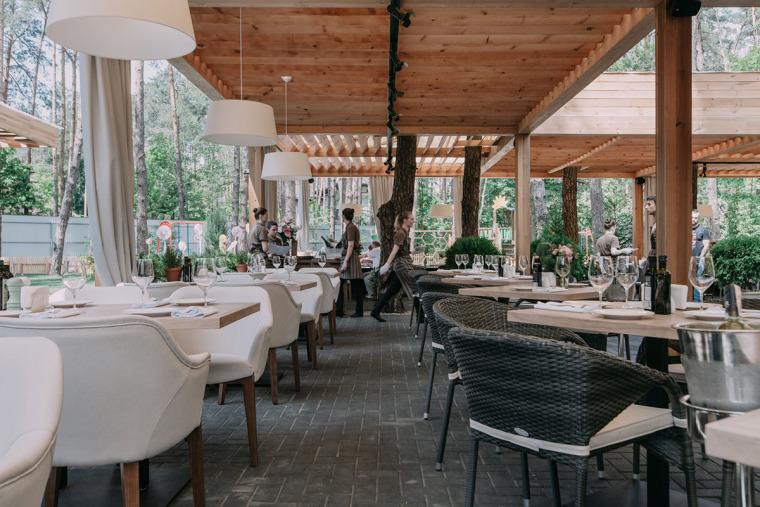 融于自然的基辅ToscanaGrill餐厅_10