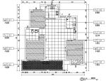 混搭风格天然材料三居室住宅设计施工图(附效果图)
