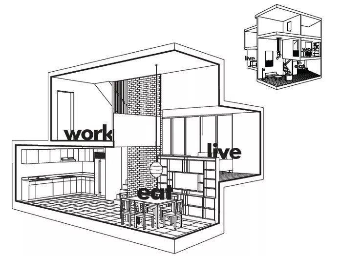 建筑师独立开发的公寓楼,真是好房子!_11