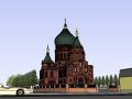圣索菲亚教堂SU模型
