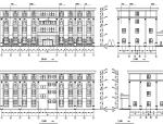 欧式多层酒店建筑设计施工图CAD