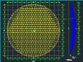 钢结构单层网壳屋面设计图