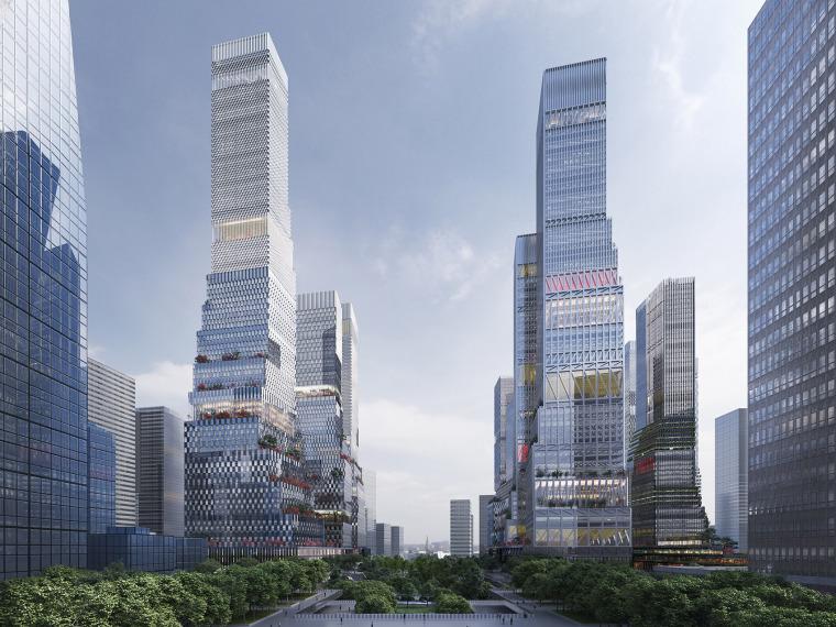 深圳北站商务区城市总体规划