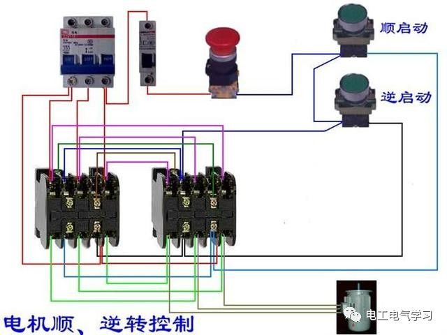 【电工必备】开关照明电机断路器接线图大全非常值得收藏!_84