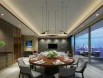 明亮餐厅3D模型下载