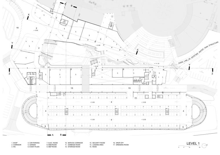 泰国Megabangna山谷购物中心平面图(32)