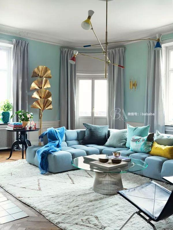 高级灰+蓝色,天生骄傲,打造优雅的高贵感_26