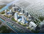 江苏盐城金融城商业项目规划建筑设计方案文本(图纸齐全)
