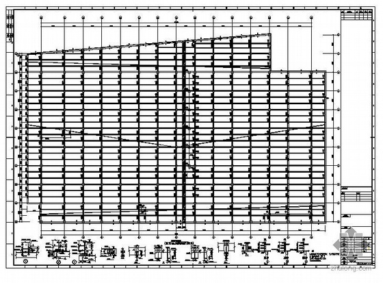 苏州某糖业公司生产车间图纸