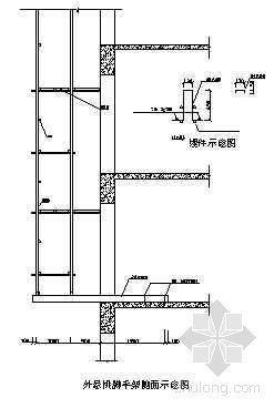 大庆某高层悬挑外脚手架及卸料平台施工方案
