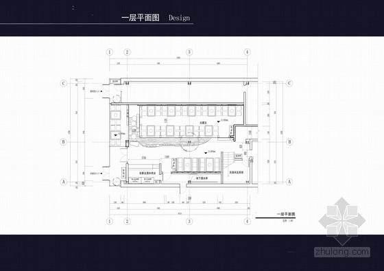 [沈阳]某特色韩式炭火烧烤店装修设计方案
