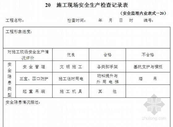 [山西]房建工程安全监理实施细则(附表格)