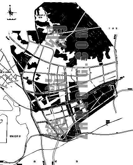 某產業園土地利用規劃總圖
