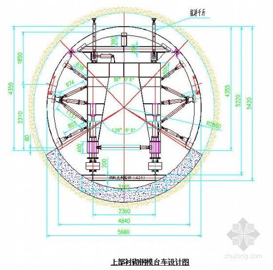 广东某核电厂排水隧洞二次衬砌施工方案(2011年 圆形小断面)