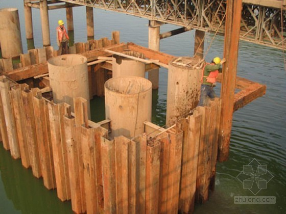 铁路特大桥水中墩围堰计算书(42页)
