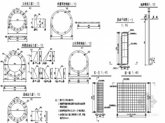 铁路工程上跨公路桥限高防护架设计图PDF(含限高架预算)
