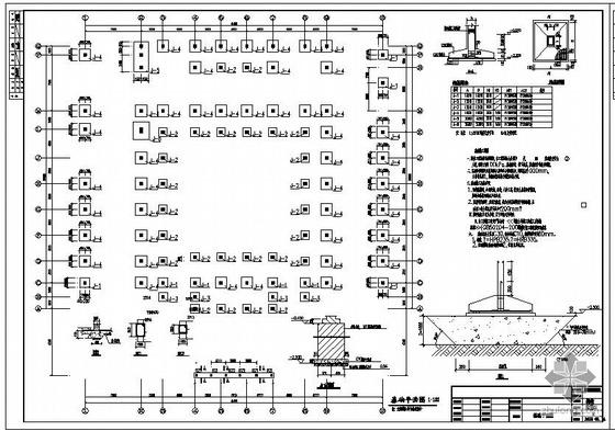 某框架古建祠堂结构设计图