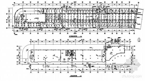 江西某6层综合办公楼给排水图纸