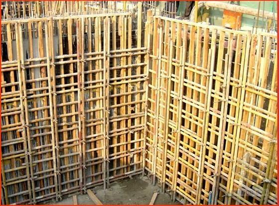 别墅工程模板施工技术交底(竹胶模、木模)