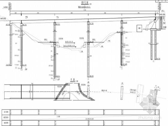 [湖南]4×30米預應力簡支t梁橋施工圖設計(先簡支后連續)圖片