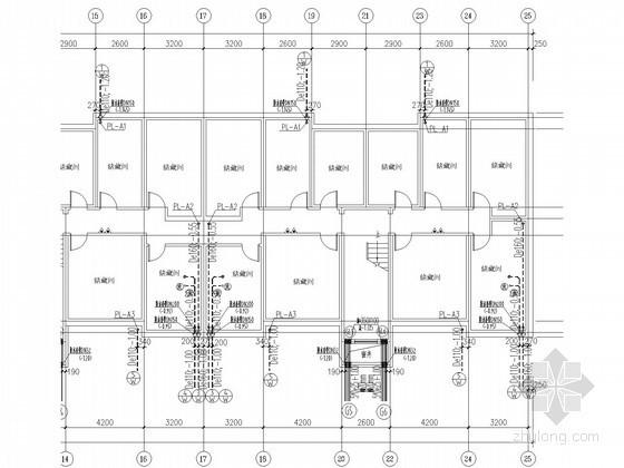 [河北]小区住宅楼群给排水施工图(空调冷凝水系统)