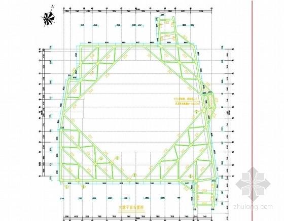 [浙江]排桩加一道混凝土内支撑基坑支护施工图(附计算书)