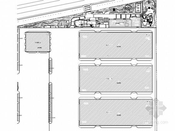 [天津]工业新建厂区绿化景观施工图