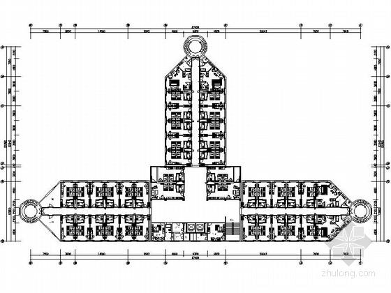 [山西]独具特色最佳四星级高档酒店设计施工图(含全套方案)