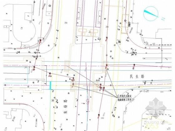 [上海]粘土地层地铁区间冻结法专项设计图15张
