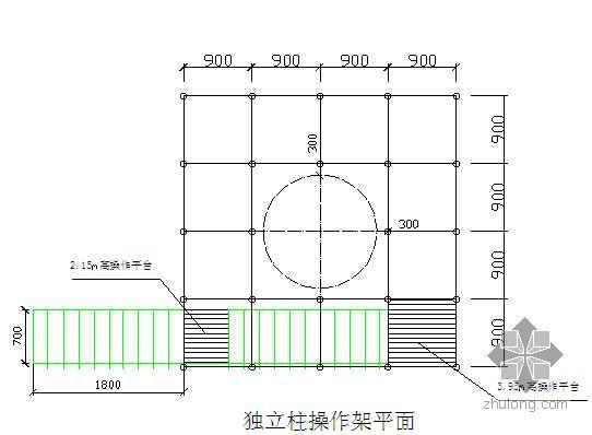 江西某机场航站楼脚手架施工方法
