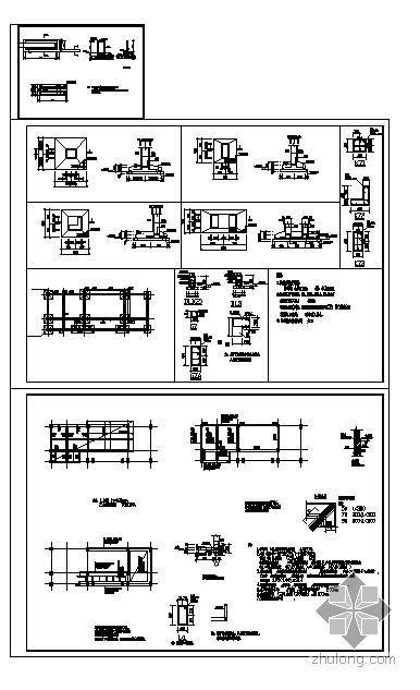 某公司门卫房结构图
