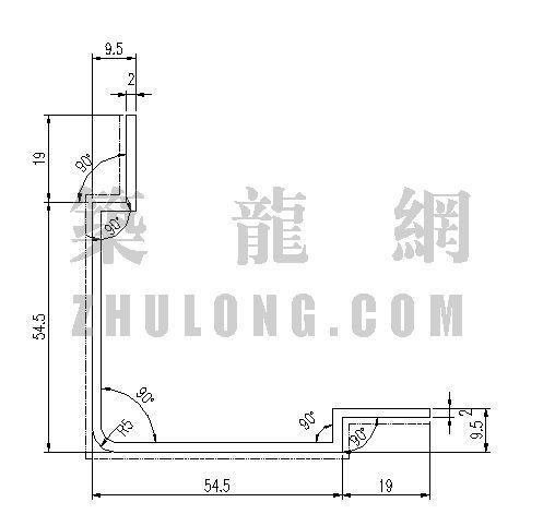 泰丰型材TFC-049-泰丰型材 TFC-049