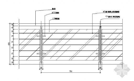 栏杆详图2