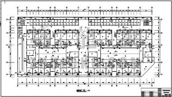 某汽车维修服务厂宿舍楼给排水设计图