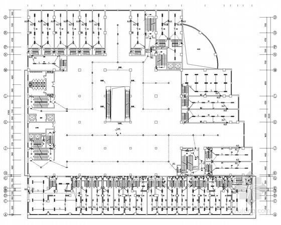 [河北]高层综合建筑电气强弱电施工图61张(商业 住宅 酒店)