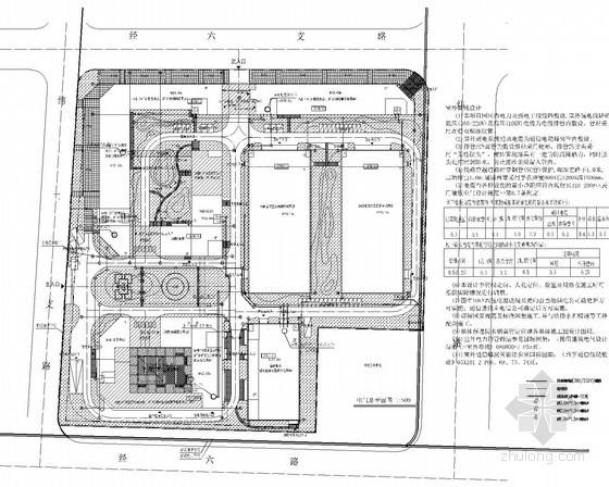 [甘肃]知名大学科技园强弱电全套设计施工图纸(内容丰富)