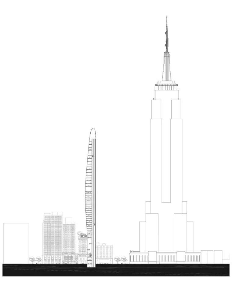 MAD新作|曼哈顿东34街高层公寓,加入纽约天际线_4