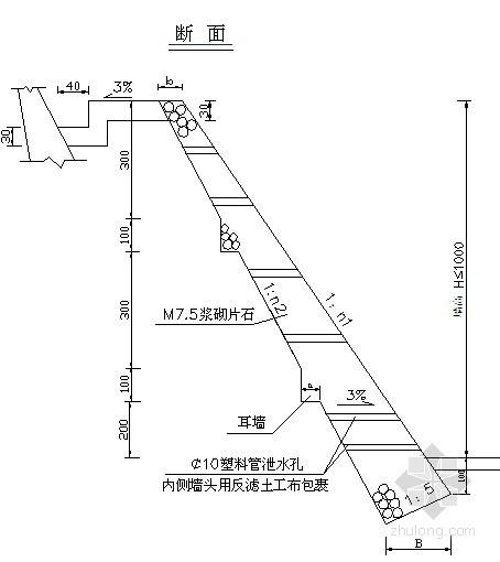 路基边坡防护全套设计图纸
