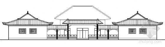 穆斯林教堂建筑施工图