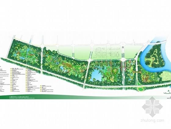 [成都]生态水景公园景观规划设计方案